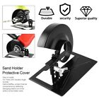 Angle Grinder Cutting Machine Cutting Bracket Sand Stand Base + Protective Cover