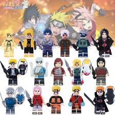 NARUTO Minifigure LEGO NUOVO custom uzumaki Sasuke Kakashi Jiraiya Itachi