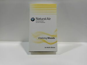 Original BMW Natural Refill Kit Innenraumduft ''Vitalizing Woods'' 1Stick=3,20€