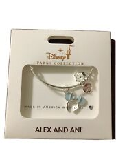 Disney Parks Collection Alex And Ani Blue Minnie Ears Headband NOC Alex & Ani