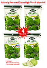 Guava Dried Snack Nutri Snack High Fibre Vitamin C Natural Preserved 4 Packs
