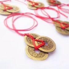 3 Chinese Lucky Coins Feng Shui Wealth Success Good Luck Coin I Ching Gift