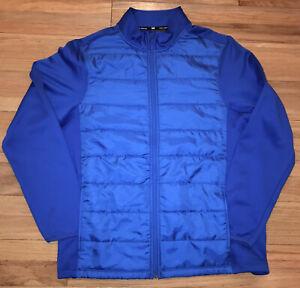 Mens TEK GEAR nylon windbreaker full zip jacket size L Extreme Lightweight Coat