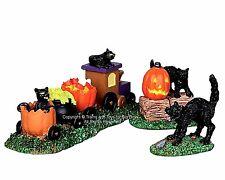 Lemax 22023 TRICK-OR-TREAT TRAIN Spooky Town Figurine Retired Halloween Decor I