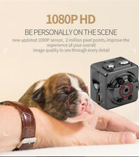 Small 1080P Hidden Spy Camera DVR Night Vision Motion Activated for Home/Office