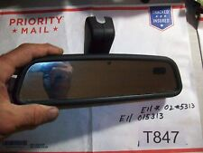 2001 Land Rover Discovery Rear View Mirror Pt# E11 015313  OEM Nice One #T847