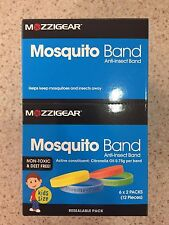 MOZZIGEAR MOSQUITO BAND - 6 X 2 PACKS (12 TOTAL)