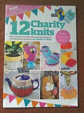 KNITTING CROCHET PATTERN booklet 12 CHARITY KNITS Crochet Crafts FREE POSTAGE