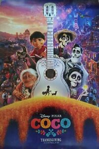 Disney COCO Final  27x40 DS Movie Theater Poster NEW