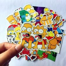 25pcs/Lot Anime Cartoon Simpson Mixed Stickers For Laptop Sticker Decal Fridge
