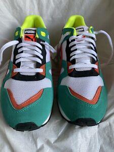 Puma Duplex Olympic Athletic Sneakers 361420-01 Sz 10.5