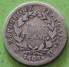 FRANCE DEMI FRANC NAPOLEON 1ER 1808 H