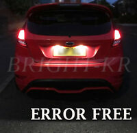 FORD FIESTA MK7 XENON WHITE NUMBER PLATE LED LIGHT BULBS UPGRADE- ERROR FREE