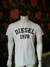 Diesel Men's Cotton Short Sleeve Crew Neck Casual Shirts & Tops