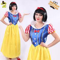 Snow White Princess Dress  Costume  Halloween Womem Adult