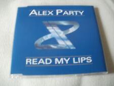 ALEX PARTY - READ MY LIPS - 5 MIX DANCE CD SINGLE