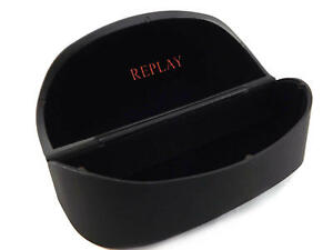 REPLAY - Black Sunglasses Case or Spectacles Glasses Case