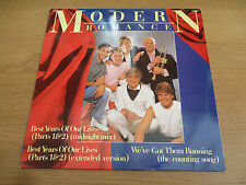 "Modern Romance ‎– Best Years Of Our Lives(Parts 1 & 2) VINYL 12"" Latin Pop ROM1T"