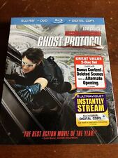 Mission: Impossible: Ghost Protocol (Blu-ray) MINT CONDITION NEW FACTORY SEALED