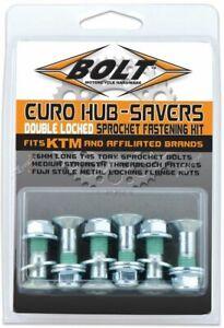 Kit Viti Corona Zincate Silver Bolt Replica KTM Husqvarna Husaberg - 6 Pezzi