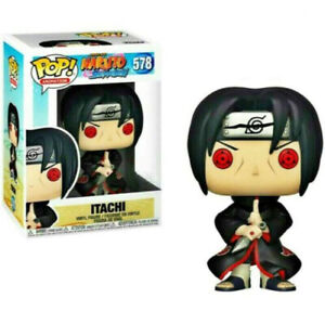 FUNKO POP NARUTOS ITACHI #578 VINYL ACTION FIGURE MODEL TOYS