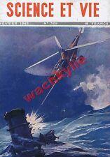 Science et vie n°329 du 02/1945 Porte-avions aviation héilcoptère mécanique
