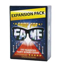 Game for Fame Expansion Pack: 130 Hilarious New Money Maker Challenge Cards