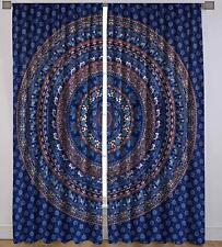 Elephant Mandala Bohemian Cotton Wall Hanging Hippie Window Door Curtains Shree