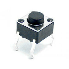 10 Pcs Momentary Tactile Push Button Switch Pcb 6x6mm X 5mm Usa Seller