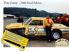CD_2001 #3 Pete Corey Sportsman 1960 Ford Falcon   1:64 scale decals