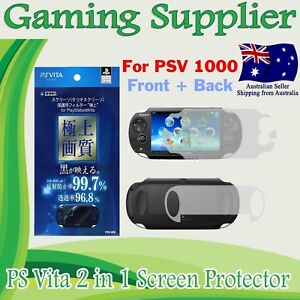 Full Body Front and Back Screen Protector for PS Vita PSV PCH-1000 PSVITA