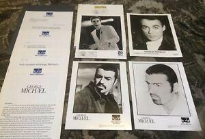 GEORGE MICHAEL 1993 Five Live QUEEN '96 Older PRESS KITS PHOTOS WHAM! Dreamworks
