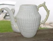 "BELLEEK - (Ireland)""Limpet-Yellow"" Coffee Pot..No Lid..MINT..FREE Shipping!!!"