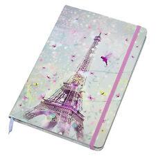Torre Eiffel a5 Foderato 192 pagine rilegato libro Giornale Notebook shabby chic regalo