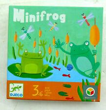 JEU DE SOCIETE ENFANT MINIFROG 3/6 ANS JOUET TOY GAME BOY 3/6 YEARS