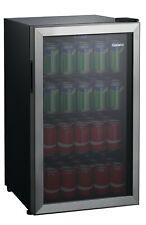 Can Beverage Center Galanz 110 Capacity Cooler Mini Fridge Stainless Door Frame