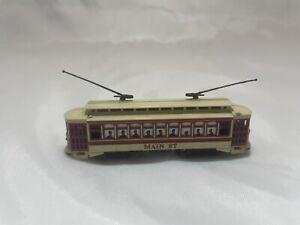"N Gauge Bachmann trolley car ""Main St."""