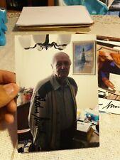 More details for rochus misch signed photograph, ww2 germany adolf bodyguard bunker original