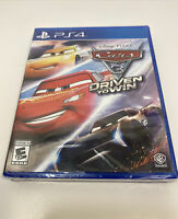 Cars 3 Driven to Win - PS4 - [Brand New Factory Sealed]