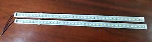 "2X 12VDC 6W LED 5630 Aluminum Strip Bright White Under Cabinet Light Fixture 20"""