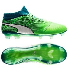 PUMA ONE 18.1 FG Frenzy Pack - Deep Lagoon/Green Men US 11 BNIB New Soccer Cleat