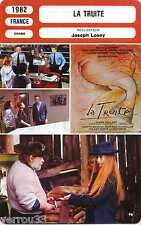 Movie Card. Fiche Cinéma. La truite (France) 1982 Joseph Losey