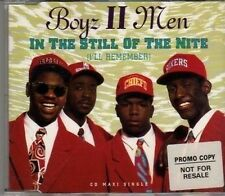 (CF979) Boyz II Men, In The Still Of The Nite (I'll Remember) - 1992 CD