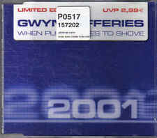 Gwyn Jefferies- When Push Comes To shove cd maxi single
