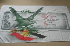 Fahne Flagge  Adler  Für Kaiser und Vaterland  150 x 90