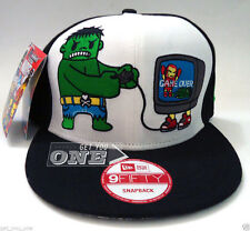 TOKIDOKI NEW ERA Hat HULK GAME OVER Snap Back Adjustable Marvel Comics Cap NEW