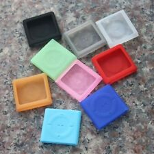 HOT! Silicone Silicon Skin Soft Cover Case for iPod Shuffle 4th Gen 4 G4