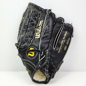 "Wilson Optima Silver OS1 Softball Glove A9850 Leather Right Hand Thrower RHT 13"""