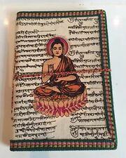 Recycelt Groß Tagebuch Gemüse Färbemittel Notizbuch Journal Buddha Sanskrit