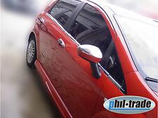 1 Set Edelstahl Spiegel Kappen V2A Chrom für Fiat Grande Punto EVO und Linea